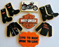 Harley Davidson Cookie Cutter | Harley-Davidson Cookies