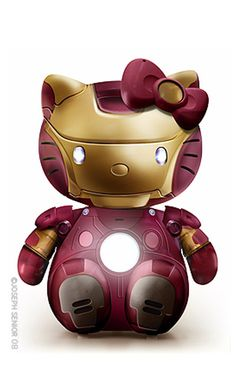 Hello Kitty: Iron Man.