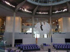 #bundestag #reichstag #berlin #przewodnik #wizyta #sala #plenarna