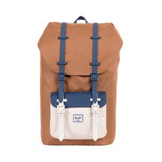 Herschel Supply Co. Little America Backpack, Caramel/Natural/Navy