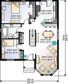 COOL house plans offers a unique variety of professionally designed home plans with floor plans by accredited home designers. Styles include country house plans, colonial, Victorian, European, and ranch. Blueprints for small to luxury home styles. Log Home Plans, Lake House Plans, House Layout Plans, Best House Plans, Country House Plans, Modern House Plans, House Layouts, House Floor Plans, House Beds