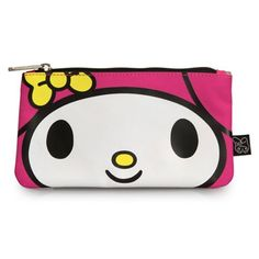 Hello Kitty My Melody Large Face Pencil Case - Loungefly - Hello Kitty -  Office at Entertainment Earth b9e9173391c14