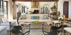 Rustic and Refined Los Angeles Ranch - Windsor Smith Design - Rustic Decor