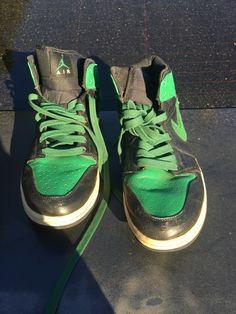Sz 12 Nike Air Jordan 1 Retro High OG Pine Green. W  Receipt. Nike Air  JordansShoe CleanerFashion ... 11f41c8a2