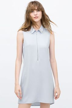 You'd Never Guess These Dresses Cost Less Than $50 #refinery29  http://www.refinery29.com/cheap-dresses-under-50-dollars#slide-2  Clean, simple, cool.