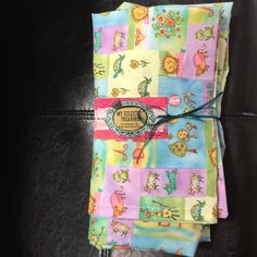 Crib sheet with matching toddler pillowcase by MyEclecticTreasure