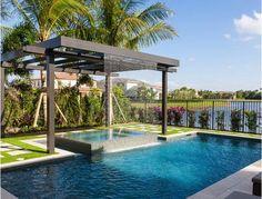 Aluminium Pergola With Swiming Pool