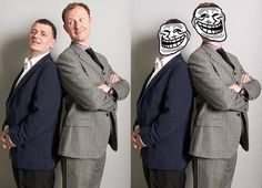 Steven Moffat & Mark Gatiss: Major Trollers