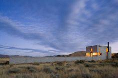 Outpost by Tom Kundig, via Behance