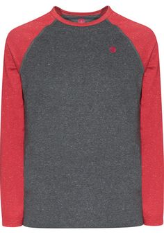 ELEMENT  Sean #Longsleeve #red #element #fire #wind #earth #titus #skateboarding #skate #male