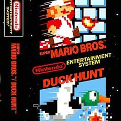 Who else spent endless hours playing these two games? #1988 #nintendo #nes #supermario #duckhunt #80s #videogames #games #retro #80skids #nostalgia #childhoodmemories #rememberthis #totally80s #ilovethe80s #eightiesgirls
