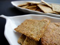 Low Carb/Keto | Flaxseed Chips