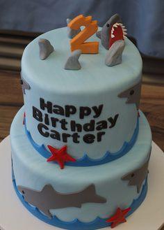 Shark Birthday Cake | 9230390629_83887d2102_z.jpg