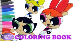 The Powerpuff Girls Coloring – Buttercup, Blossom and Bubbles #thepowerpuffgirls #powerpuffgirls #buttercup #blossom #bubbles #powerpuffgirlscoloring #coloringbook #happymagictoys