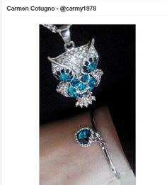 Carmen Cotugno's soufeel necklace www,soufeel.com