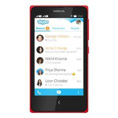 Nokia X Dual SIM Mobile Phone - Red