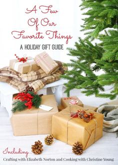 Gift Ideas for everyone on your list! http://bit.ly/afewofourfavethings