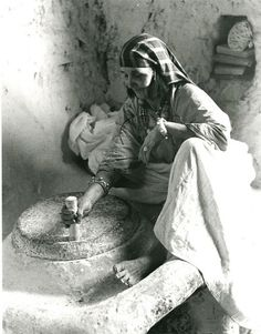Akka jewish Berber woman, 1935