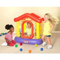 Little Tikes Club House Play Center Ball Pit w/ 50 Balls $14 | Spoiled But Not RottenSpoiled But Not Rotten