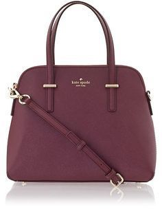 I've been wanting a burgundy purse for the longest time now and this one is just perfect being that it's also Kate Spade!! :')