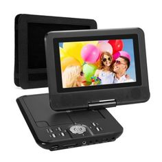 Region Free DVD Player, and it can support DVD/ Built MTK chip, the stablest chip ever used in Portable DVD players. Lithium battery which can last for hours, enjoy your playing time much longer. Shower Speaker, Media Room Design, Dvd Vcr, Home Theater Speakers, Audio Player, Card Reader, Tv Videos, Sd Card, Custom Cars