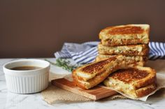 Homemade French Onion Soup is transformed into a delicious and easy-to-make grilled cheese!