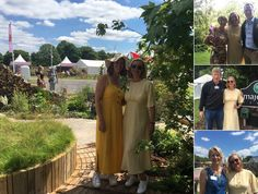 Nicola Gammon, Shoot Limited CEO, enjoyed the sunshine today and meeting up with old friends Adam White FLI PLI, Andrèe Davies from DAVIES WHITE LTD, Tendercare Nurseries Ltd, and Seonaid Royall at RHS Hampton Court Flower Show