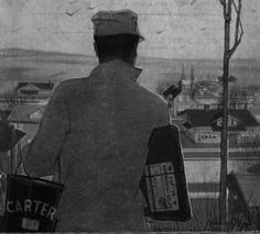 This is from the cover of a 1916 Carter White Lead advertisement