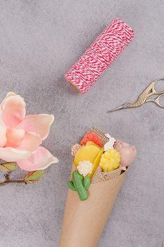 Mydlové kytice a postup na ich výrobu Soap Making