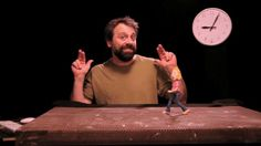 Charged Studios founder Adam Pierce demonstrates a stop motion basic walk cycle.