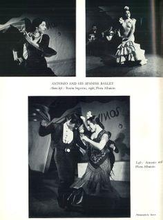 Antonio y su Ballet Español con Rosita Segovia y Flora Albaicín. #documentacion #danza #ballet