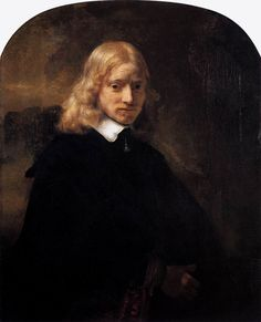 Rembrandt, c.1650, Portrait of a Blond Youth