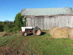David brown tractor.  Spent many hours behind the wheel