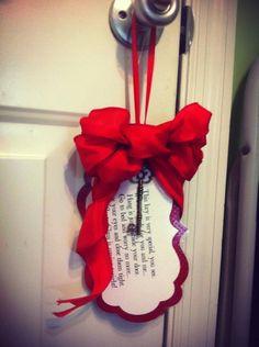 Santa's Magic Key by mycraftywednesday on Etsy