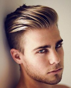 Cool hairstyles for men with blonde hair  Hair Styles  Pinterest