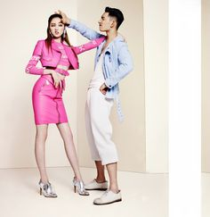 Lee Sung Kyung and Park Hyeong Seop - Grazia Magazine February Issue '15
