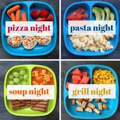 15 Themed Dinner Ideas [My Favorite Way to Meal Plan] – Mom to Mom Nutrition – Toddler dinner – etoddler Healthy Toddler Meals, Toddler Lunches, Healthy Foods To Eat, Healthy Eating, Dinners For Kids, Meals For The Week, Kids Meals, Toddler Dinners, Daycare Meals
