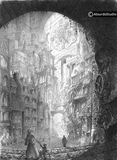 Absurdostudio - Krum: Créateur de mondes imaginaires   Mine de Plomb