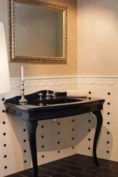 Piano lavabo casabath con lavabo e specchio composizione for Produttore di blueprint piano piano