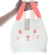 Rabbit Shaped Shopping Bag