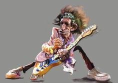rock and roll caricatures | ... roll,and,rock,karikatur,karikaturen,musik,rock,keith richards,rolling