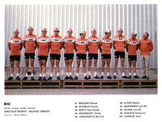 """One of the 13 teams which raced the 1971 Tour de Fance. Photo was scanned from a special issue of the French periodical """"Miroir Du Cyclisme"""" [No in July Vintage Cycles, Classic Image, Cycling Jerseys, Vintage Colors, Legends, Racing, Tours, French, Sport"""