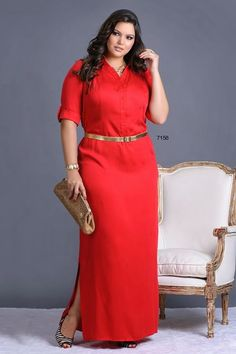 moda plus size Plus Size Fashion Tips, Plus Size Beauty, Moda Plus Size, Plus Size Model, African Fashion Dresses, African Dress, Dress Fashion, Fashion Outfits, Plus Size Dresses