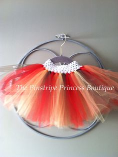 Fall tutu/Thanksgiving tutu by ThePinstripePrincess on Etsy, $20.00