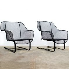Woodard Sculptura Bouncer Chairs, $1,580