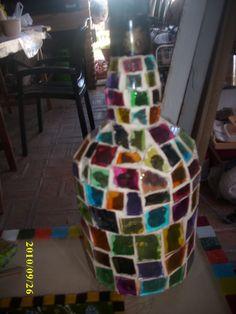 vidrios reciclados