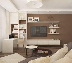 Стол трансформирующийся в шкаф | Дизайн гостиной