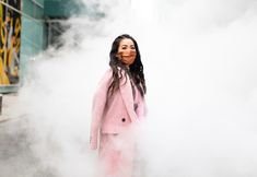 Pink Smoke - Wendy's Lookbook Wendy's Lookbook, Pink Smoke, Winter Outfits, Fur Coat, Raincoat, Street Style, Style Inspiration, Jackets, Fashion
