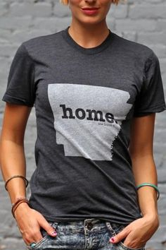 Arkansas Home T Shirt | The Home. T | Bourbon & Boots