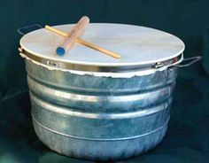 The djunbasket is one of a family of homemade drums.  This one is a nice loud…